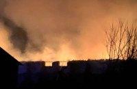 Во Львовской области пожар уничтожил 500 тонн зерна