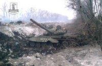 Ночью боевики не прекращали обстреливать позиции украинских военных