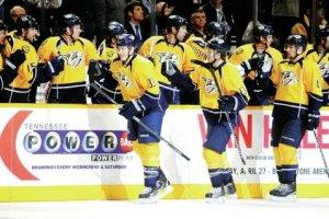 НХЛ: Победа Нэшвилла,три овертайма Вашингтона и Нью-Йорк