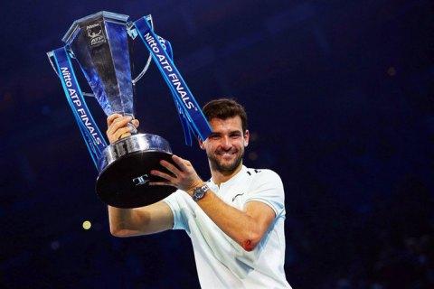 Болгарин Димитров одержал победу Итоговый чемпионат ATP