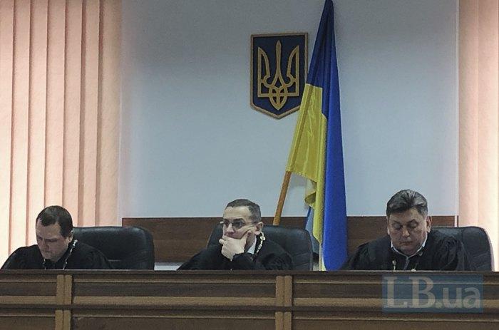 Зліва-направо: П. Слободянюк, О. Мартинов, А. Трубніков