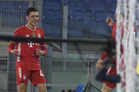 """Игрок """"Баварии"""" стал самым молодым англичанином, который забил гол в Лиге Чемпионов"""
