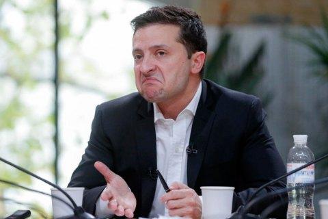 Зеленский не исключил заморозку конфликта на Донбассе