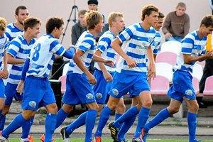 В Крыму сыгран первый официальный футбольный матч в 2014-м году