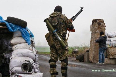 Бойовики за добу 5 разів намагалися атакувати позиції бійців АТО
