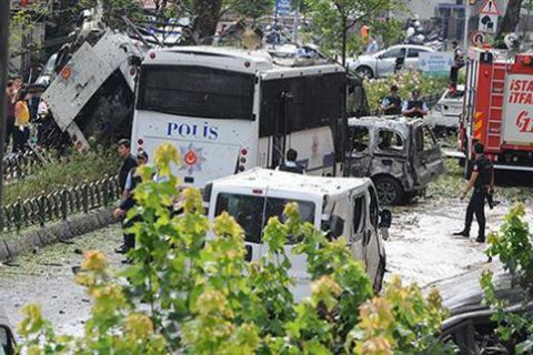 Курдская группировка взяла на себя ответственность за теракт в Стамбуле