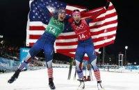 """Лижниці збірної США і лижники збірної Норвегії виграли """"золото"""" Олімпіади в командному спринті"""
