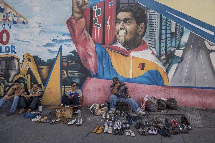 Уличная торговля в Каракасе, Венесуэла