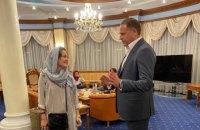Режисерку Сахру Карімі евакуювали з Афганістану в Україну
