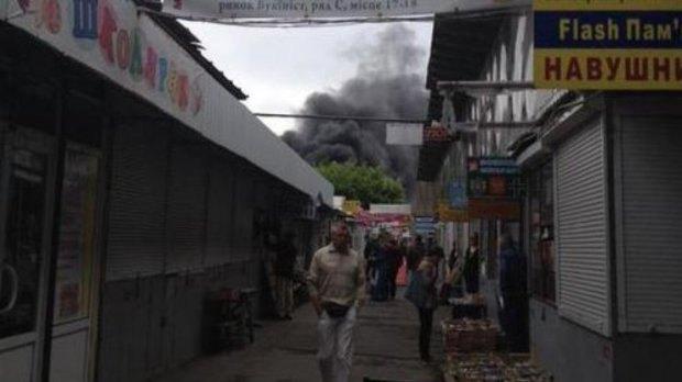 Пожежа на Петрівці