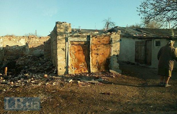 Разбитый дом в Тоненьком