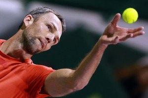 Карлович вышел на первое место по количеству эйсов за карьеру