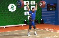 """Чумак виграв """"срібло"""" на чемпіонаті світу з важкої атлетики"""