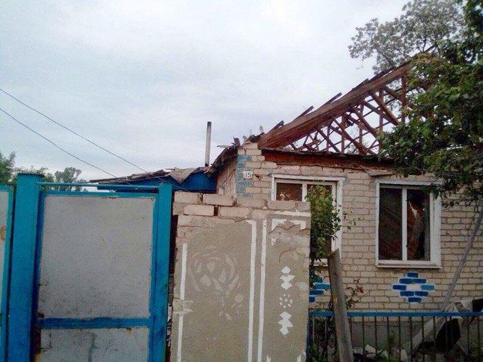 Раненая вовремя обстрела жительница Троицкого находится вреанимации