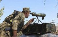 В зоне ООС ранен украинский военный, потерь нет