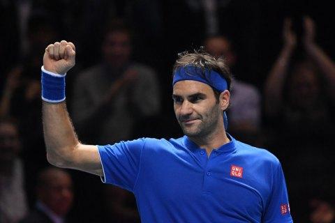 Федерер вийшов у півфінал Підсумкового турніру ATP