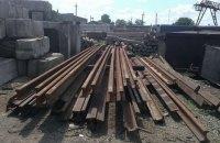 Служащие ДЖД украли километр железнодорожной колеи в зоне АТО