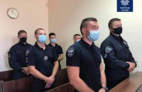 Шість львівських поліцейських отримали по 8 років за смерть 22-річного юнака, який проковтнув пакетик з наркотиками (оновлено)