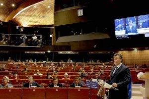Все, что сказал Янукович, ПАСЕ приняла на ура, - Левочкина