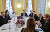 Юнкер на встрече с Порошенко заявил о готовности ЕС предоставить макрофинансовую помощь Украине