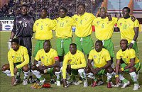Автобус с футболистами сборной Того упал в пропасть