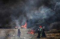 У сутичках на кордоні сектора Газа загинули 52 палестинці (оновлено)