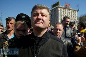 Порошенко считает, что с террористами нужно говорить языком силы
