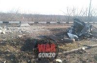 Микроавтобус с гражданскими подорвался на мине в Донецкой области (обновлено)