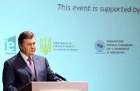 Янукович запевнив фінського президента в чесних виборах у Раду