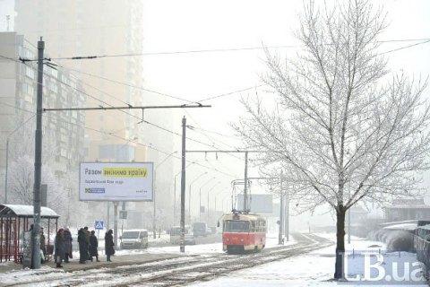 У понеділок в Києві до -7
