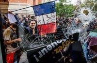 Первомайское шествие в Париже переросло в столкновения с полицией
