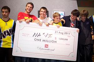Украинские геймеры выиграли $1 млн в Dota 2