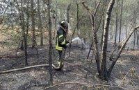 На Луганщині після обстрілу виникла пожежа (оновлено)