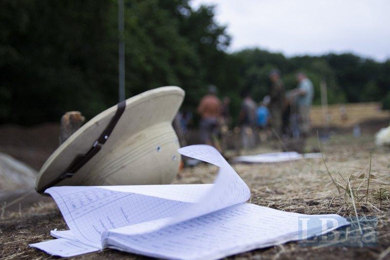 Олексіїв капелюх і робочі записи.
