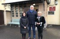 Жена и дочь Сущенко посетили его в российском СИЗО