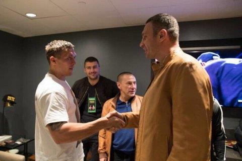 Виталий Кличко лично поддержит Усика в Лондоне