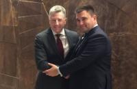 Климкин и Волкер согласовали шаги для противодействия попыткам РФ узаконить оккупацию
