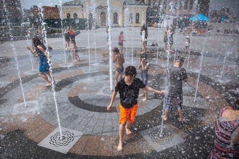 2017 год вошел в тройку самых жарких за историю наблюдений в Киеве