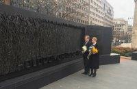 Тимошенко і Немиря вшанували у Вашингтоні пам'ять жертв Голодомору