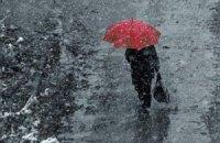 Завтра в Києві мокрий сніг з дощем