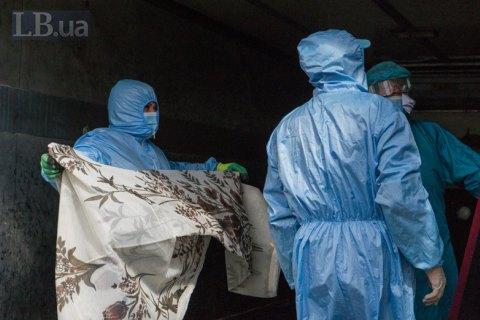 В Україні зафіксовано 23672 випадки коронавірусної хвороби COVID-19