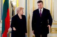 Янукович посетит Литву с официальным визитом