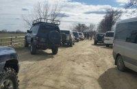 Около 50 человек пытались заблокировать работу пограничников границе с Румынией, - ГПСУ