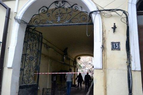 У центрі Одеси обвалилася стіна будинку, в якому розміщений департамент фінансів мерії