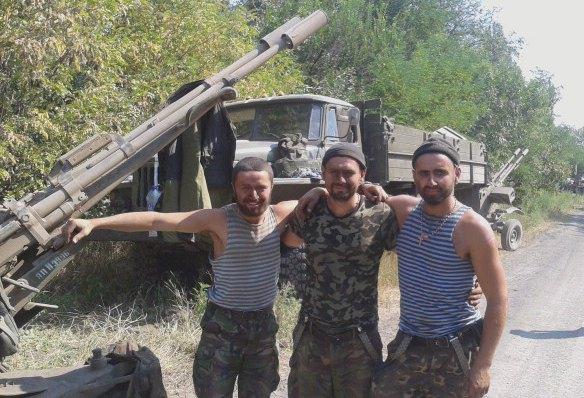 Военнослужащие 24-й отдельной механизированной бригады после прорыва