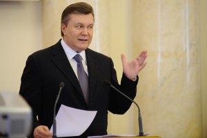 Янукович призвал сохранить духовные ценности народа
