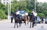 В Мариуполе появилась туристическая полиция на мотоциклах, велосипедах и лошадях