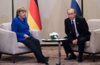 """Меркель и Путин обсудили """"нормандский"""" саммит и транзит газа через Украину"""
