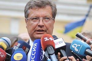 Грищенко не ощущает приостановку евроинтеграции Украины