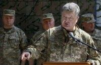 Порошенко назвав керівництво ЛНР-ДНР бомжами і безбожниками